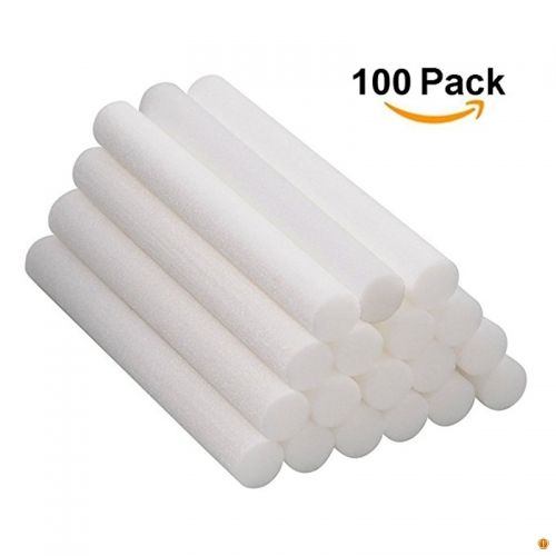 100PCS/lot Aromatherapy Inhaler Refill Wick Stick Package,Nasal Inhaler Japanese cotton Wicks