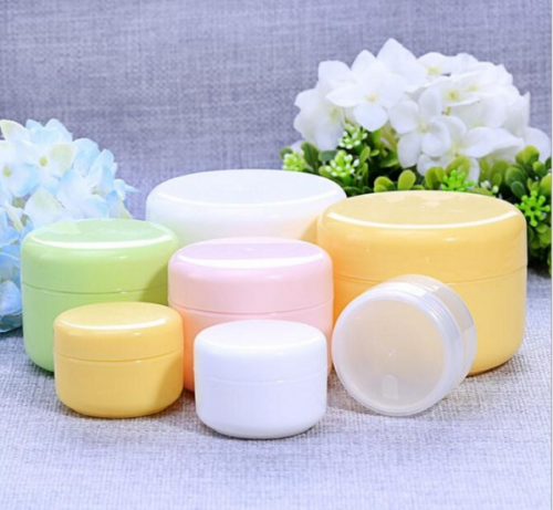 120pcs/lot 20g plastic mini cream container,  empty cosmetic jar for eye cream