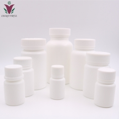 200pcs/lot 20cc 20ml HDPE White Plastic Empty Pill Bottles, Pharmaceutical bottle with Tamper Proof Cap