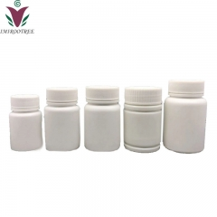 100pcs/lot 60cc 60ml HDPE white Capsule bottle, Plastic empty pill Powder container with Screw Cap