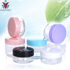 100pcs/lot 30g plastic clear cream jar, empty cosmetic Transparent jar container for  skin care cream