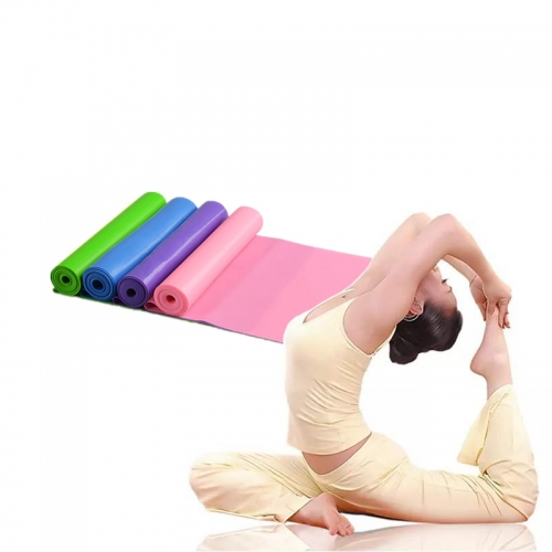 2pcs Yoga Pilates Resistance Tape Fitness Eraser Sports Elastic Band Gym Fitness Equipment Elastic Band for Workout