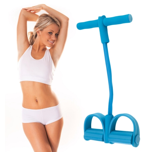 Indoor Fitness Resistance Bands Exercise Equipment Elastic Sit Up Pull Rope Workout Bands Sport Pedal Ankle Puller