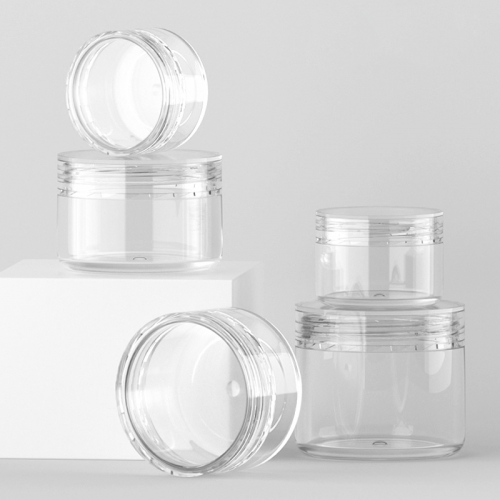 Free shipping 12pcs/lot 15g clear plastic jar, empty transparent cosmetic jar with good quality
